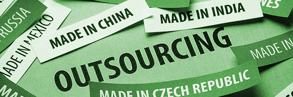 Outsourcing as green