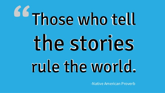 Credit: Native American Proverb/Slideshare