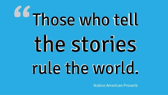 Credit: Native American Proverb/Slideshare