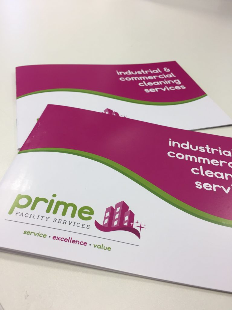 Prime brochure - printing, graphic design, colour
