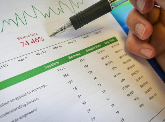 Formation web development - analytics and insight