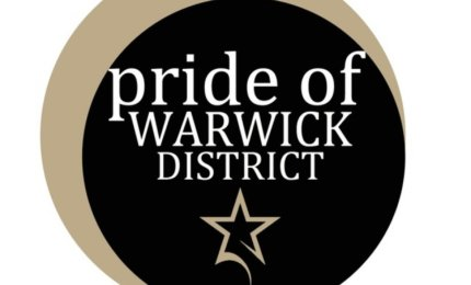 Pride of Warwick District Award Logo