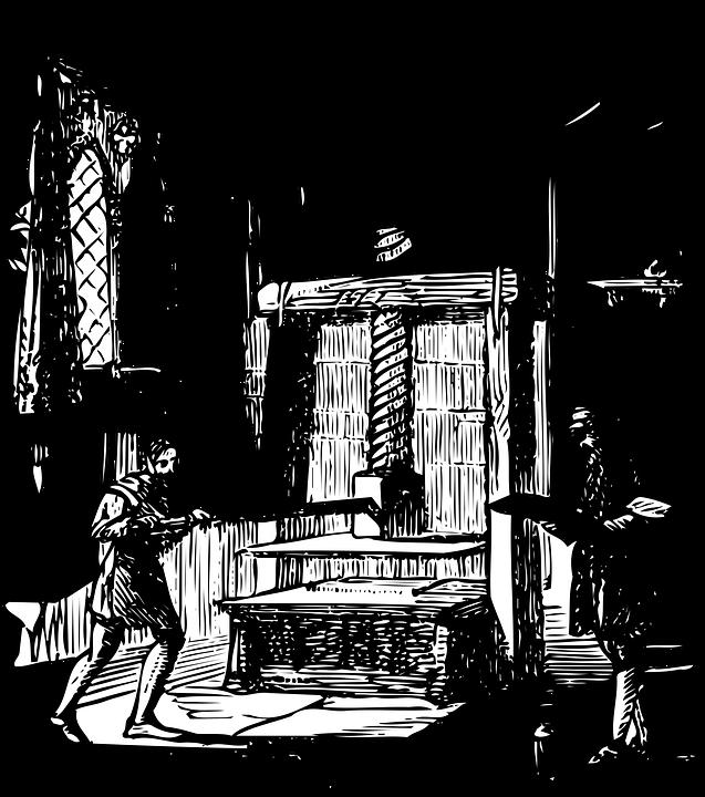 Gutenberg Press Sketch