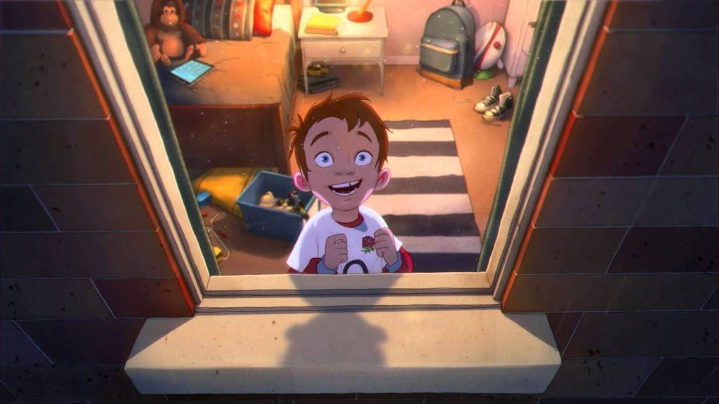 Still from O2 animation
