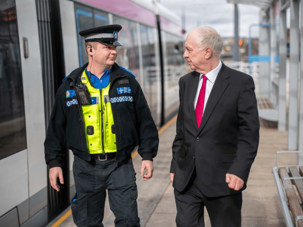 police crime commissioner train
