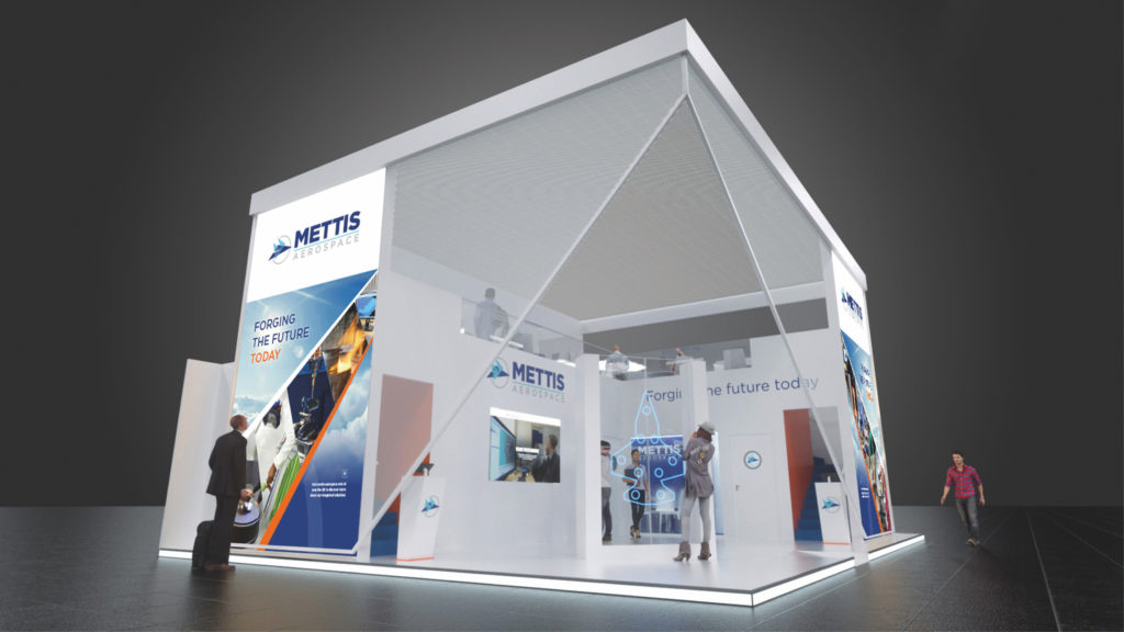 mettis exhibition concept