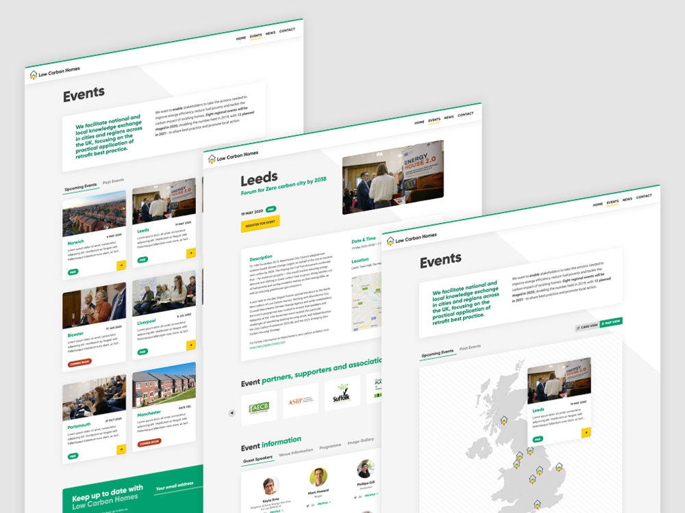 LCH Website design