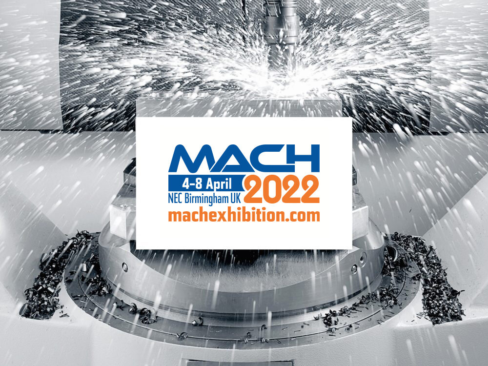 Logo for MACH 2022 exhibition