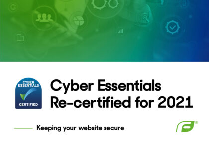 Cyber Essentials Re-Certified for 2021 graphic